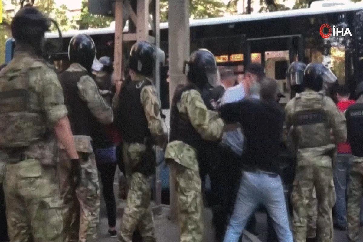 Rusya, en az 45 Kırım vatandaşı gözaltına alındı