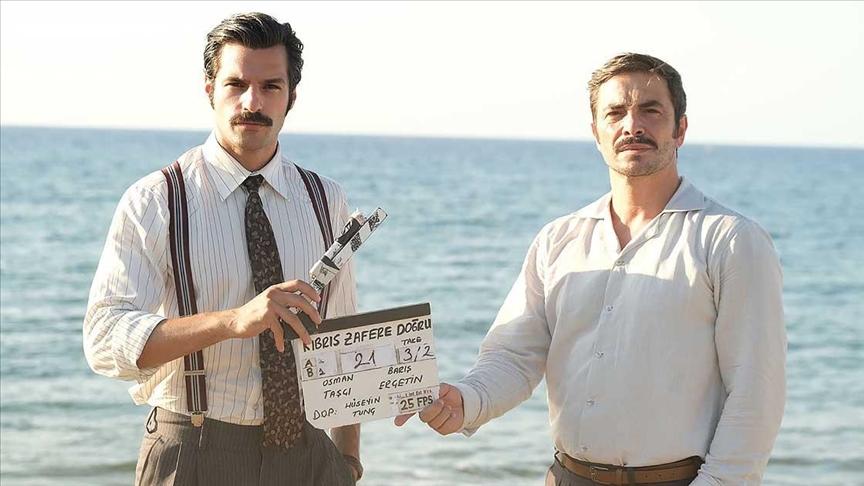 TRT'nin 'Kıbrıs Zafere Doğru' dizisinde çekimler başladı