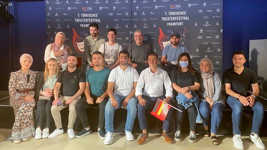 """""""7. Frankfurt Türk Tiyatro Festivali""""nde dizi sektörü ele alındı"""