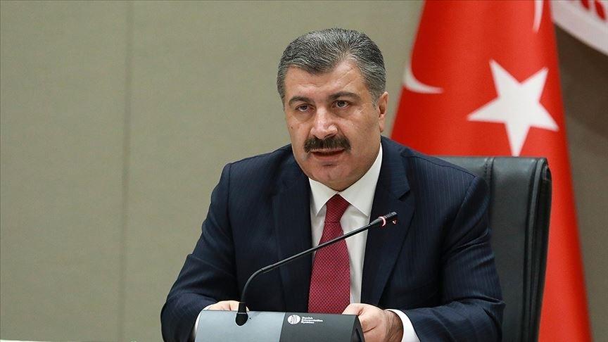 Sağlık Bakanı Koca, Konya'nın aşılamada 'mavi' kategorideki iller arasına girdiğini duyurdu