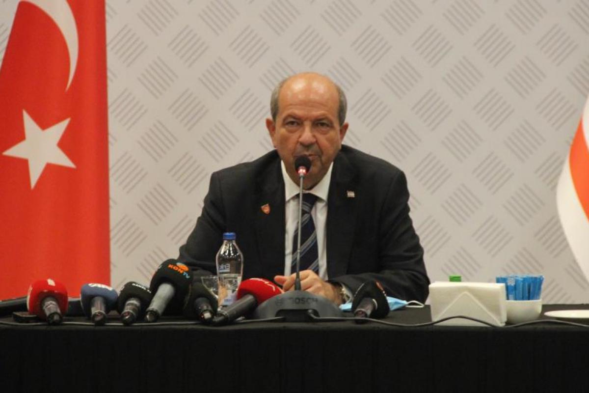 """KKTC Cumhurbaşkanı Tatar: """"Türkiye, Kıbrıs Türklerini hiçbir zaman yalnız bırakmamıştır"""""""
