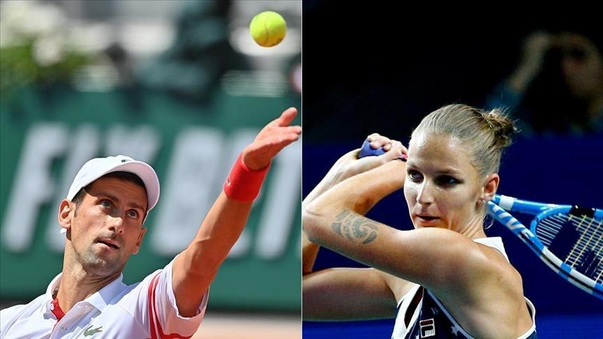 Djokovic ve Karolina Pliskova ABD Açık'ta çeyrek finale yükseldi