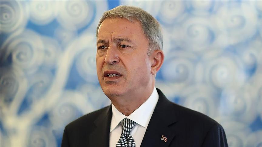Bakan Akar'dan terörle mücadelede kararlılık mesajı: Artan bir şiddet ve tempoda operasyonlarımız devam ediyor