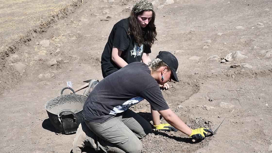 Domuztepe Höyüğü'nde 7 bin 500 yıllık yerleşim yeri tespit edildi