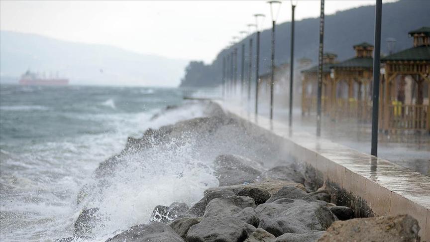 Türkiye'nin kuzeybatı kesimlerinde fırtına bekleniyor