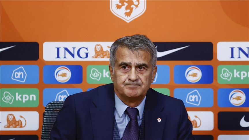 A Milli Futbol Takımı Teknik Direktörü Güneş: Burada tek sorumlu benim, seçimleri yapan benim, başarısızlık da benimdir