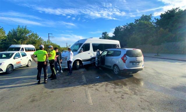Gebze'de Trafik Kazası 4 yaralı