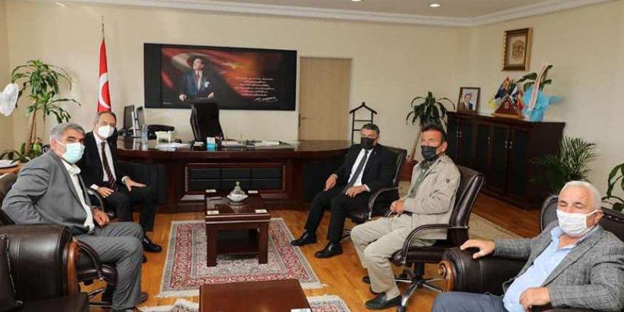 Başkan Şayir'den Kaymakam Kubilay'a hayırlı olsun ziyareti