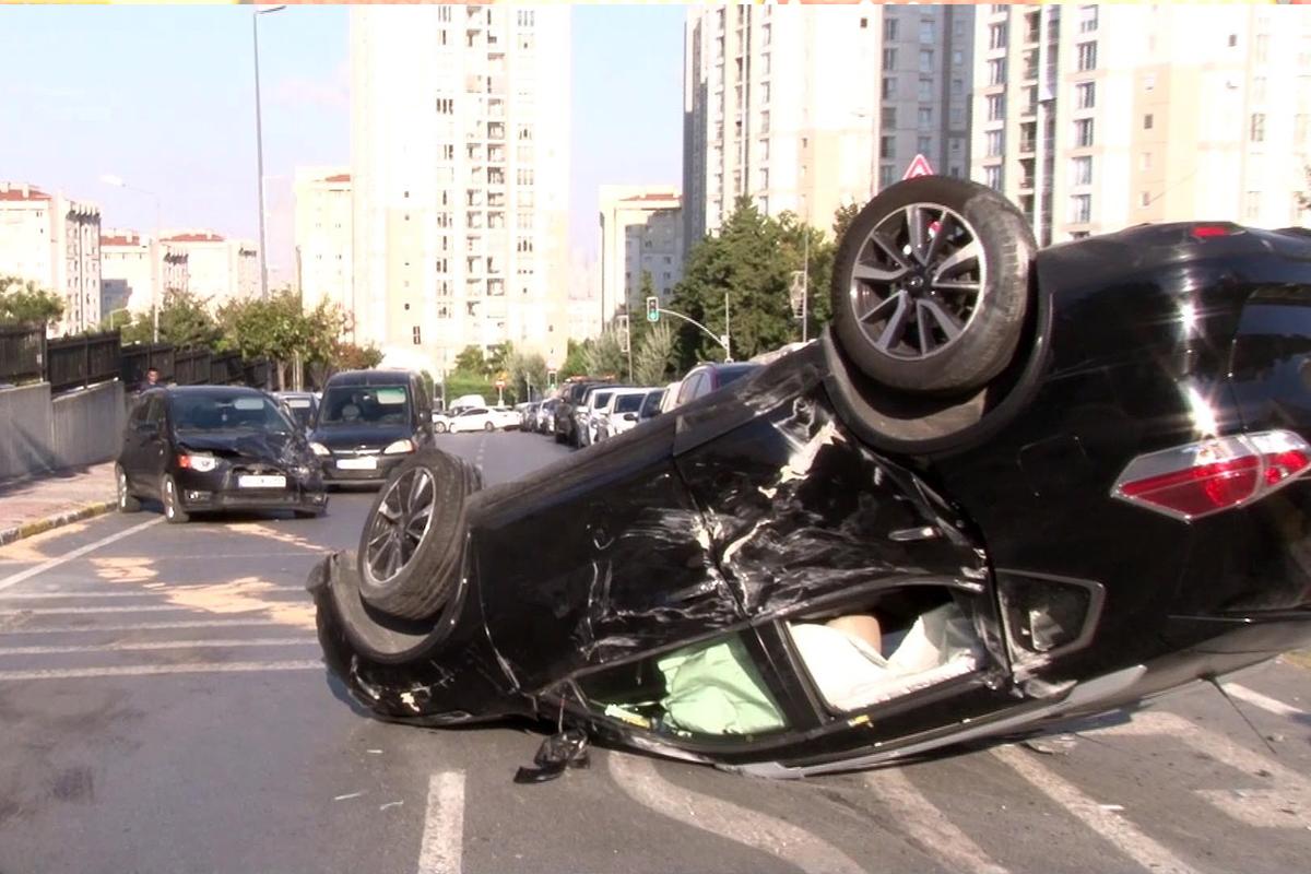Kaza yaptı, trafik canavarı olduğu ortaya çıktı