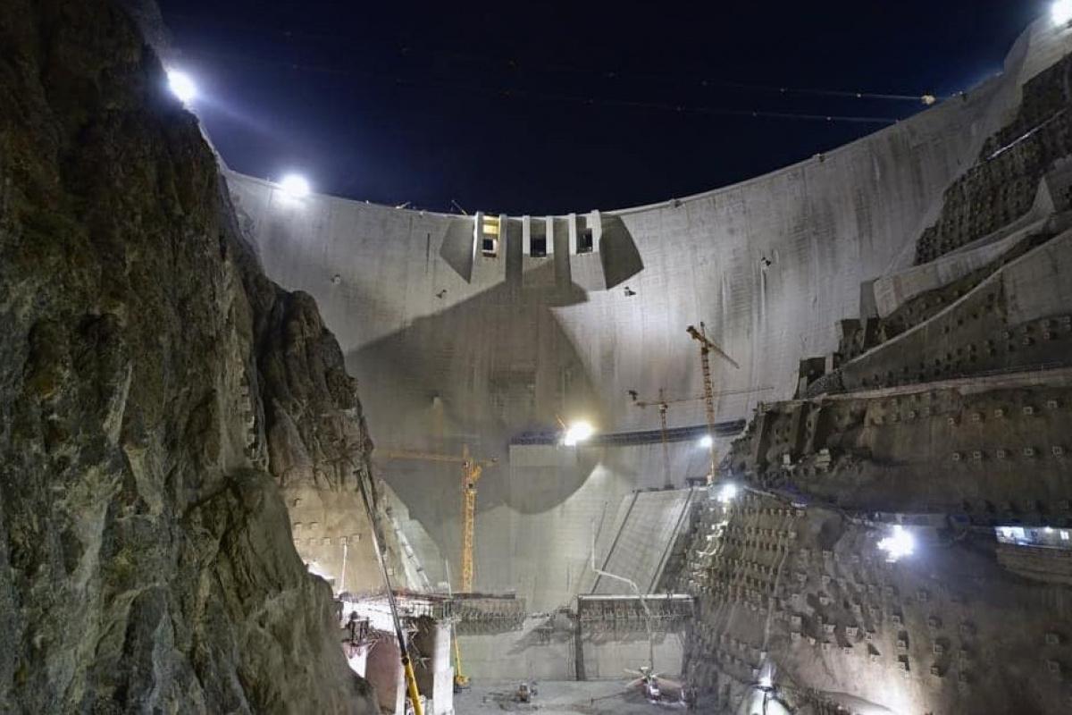 Türkiye'nin en yüksek barajı! Çalışmalar hızla devam ediyor