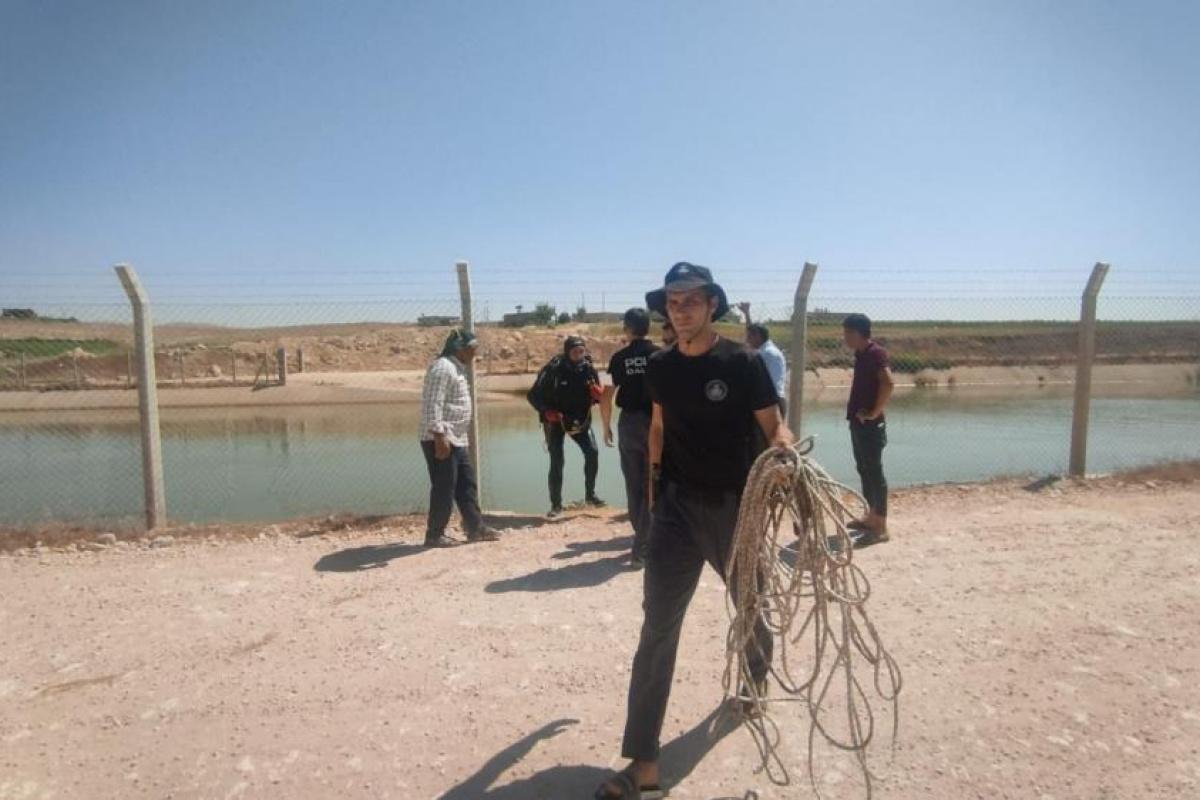 Sulama kanalına düşerek kaybolan Taha'nın cesedine ulaşıldı