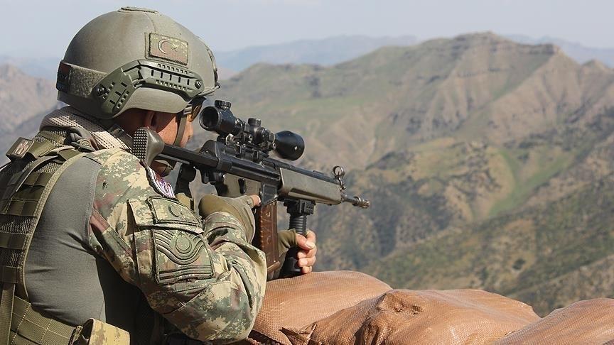 Fırat Kalkanı bölgesinde 13 PKK/YPG'li terörist etkisiz hale getirildi