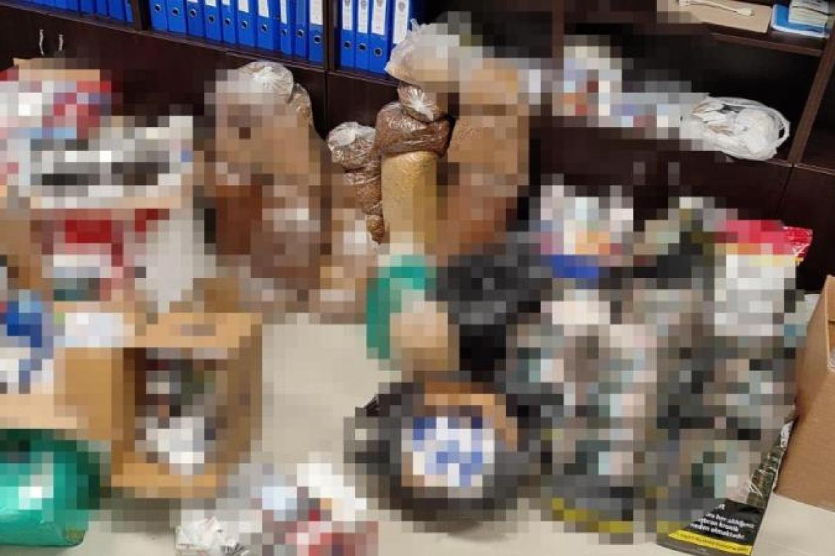 Tekirdağ'da kaçak tütün operasyonu: 135 kilo kaçak tütün ele geçirildi