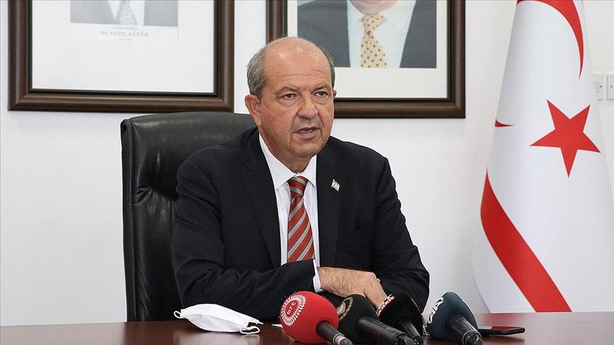 KKTC Cumhurbaşkanı Tatar, Rum kesiminde öğretmenlere gönderilen 'kitabın Atatürk sayfasını yırtın' genelgesini kınadı