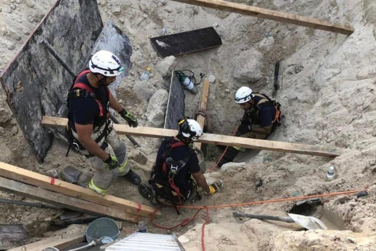 Yeni Kuveyt Havalimanı inşaatında toprak kayması: 2 ölü, 1 yaralı