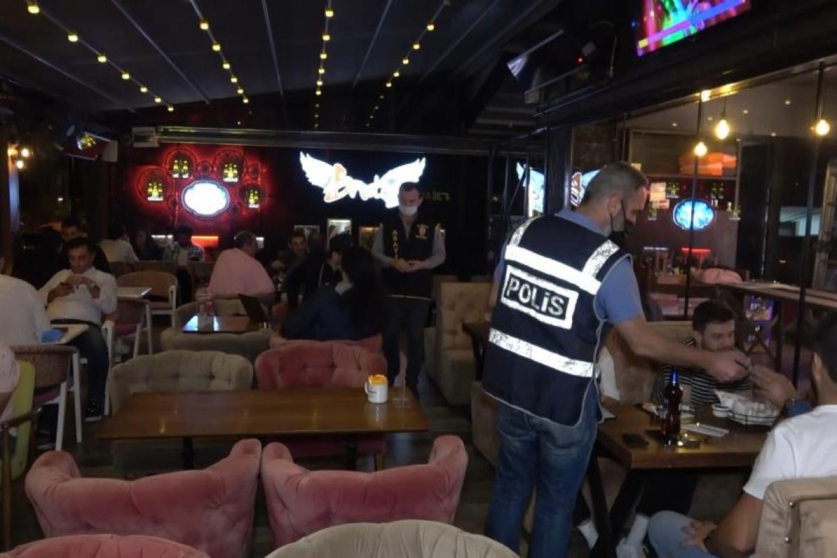 Bursa'da 300 polisin katıldığı 'Drone Destekli' asayiş uygulaması yapıldı