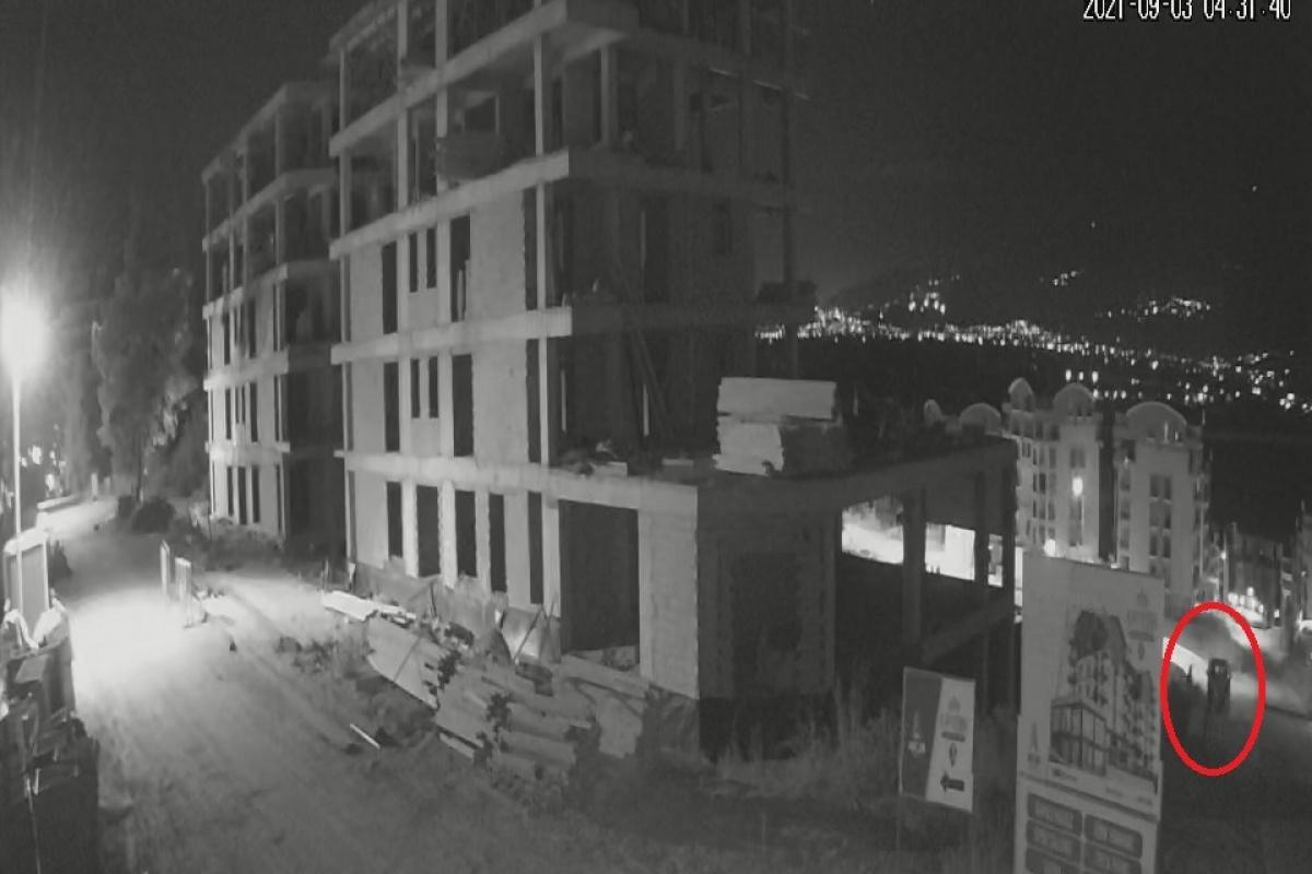 Bursa'da 20 dakikada 4 inşaatın malzemelerini çaldılar