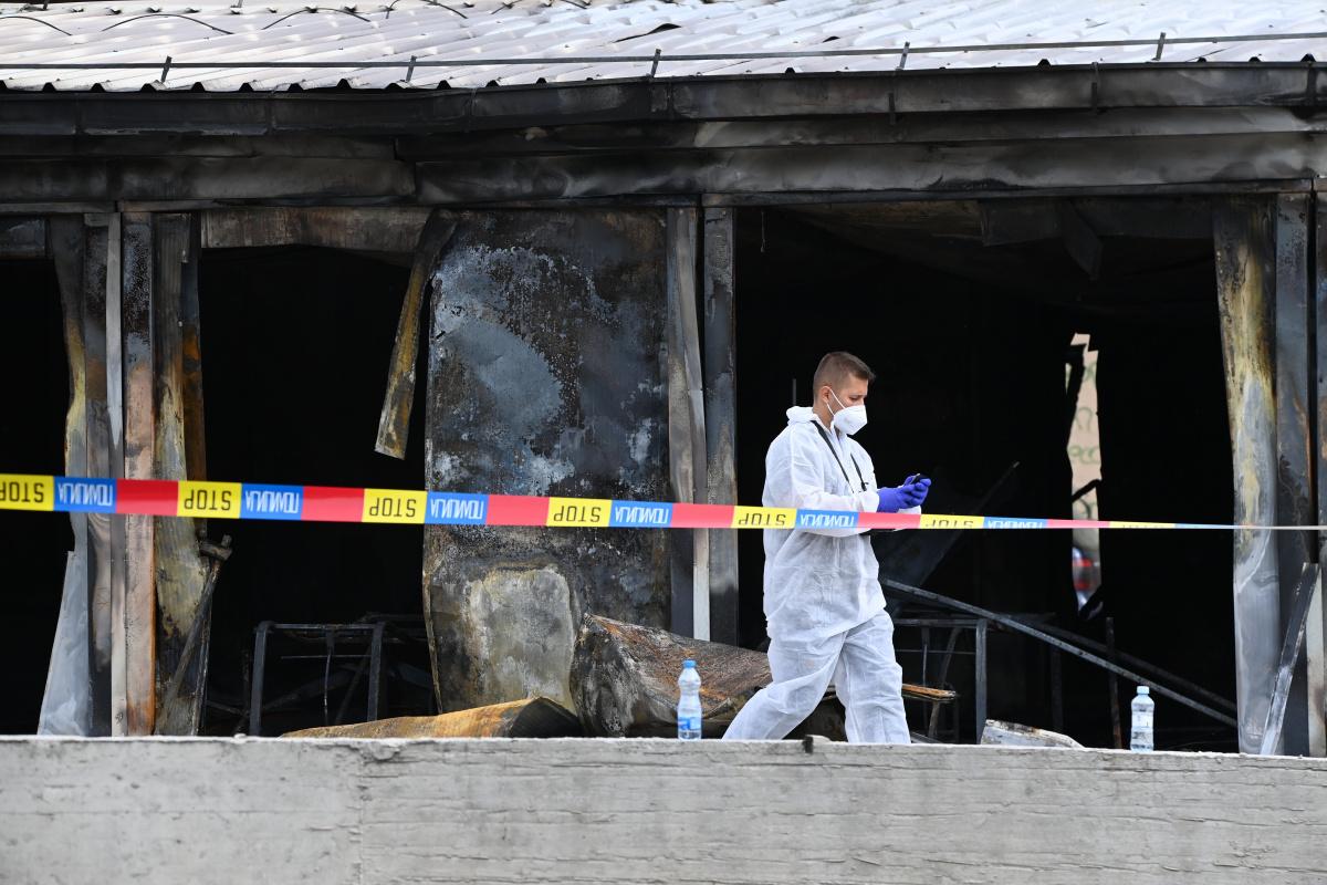 Kuzey Makedonya'daki hastane yangınında can kaybı 14'e yükseldi