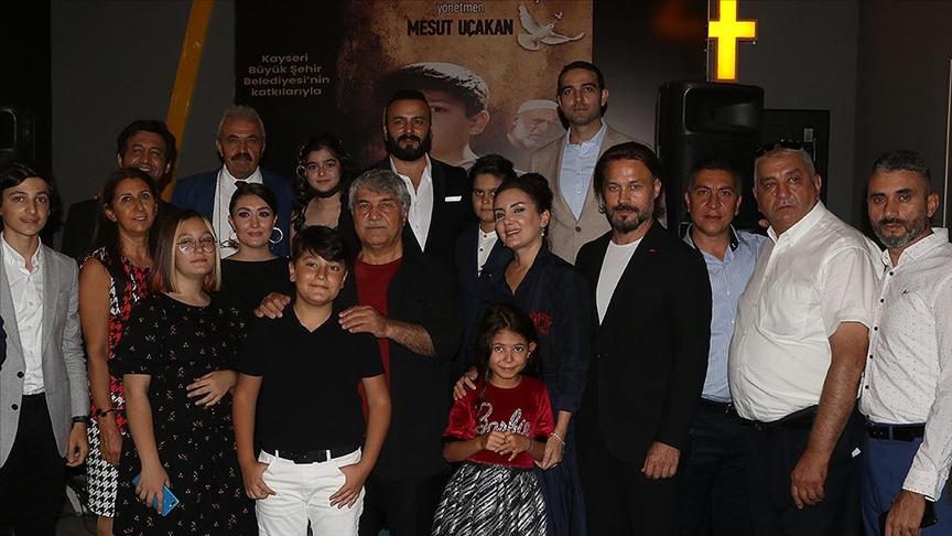 'Suveyda' filminin galası Kayseri'de yapıldı