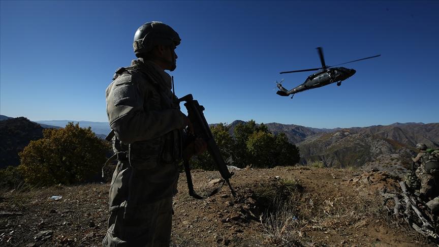 Pençe-Şimşek operasyonu bölgesinde 6 PKK'lı terörist etkisiz hale getirildi