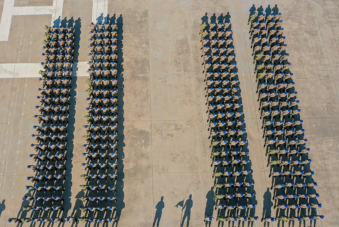 'Terörle mücadele' için yemin eden jandarma komandolar göreve hazır