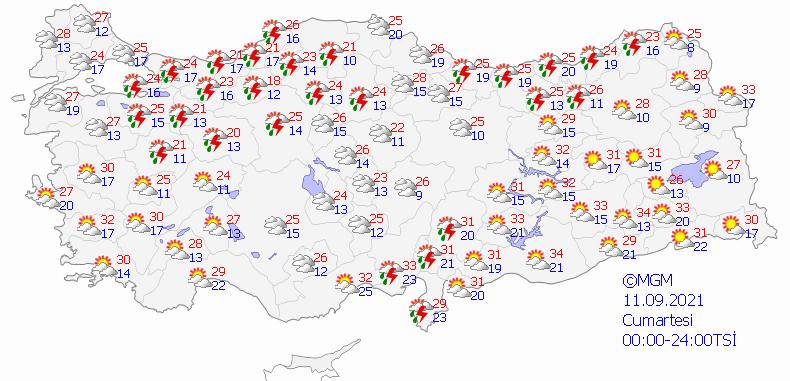 Meteoroloji Genel Müdürlüğü tarafından yapılan son değerlendirmeler