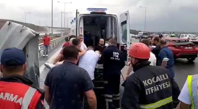 Gebze'deki Kaza da Karayolları Görevlisi Hayatını Kaybetti
