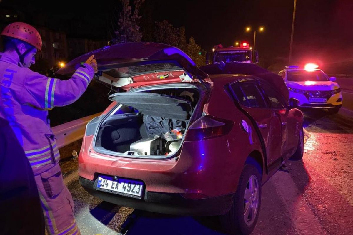Kartal'da feci kaza: 4 yaralı
