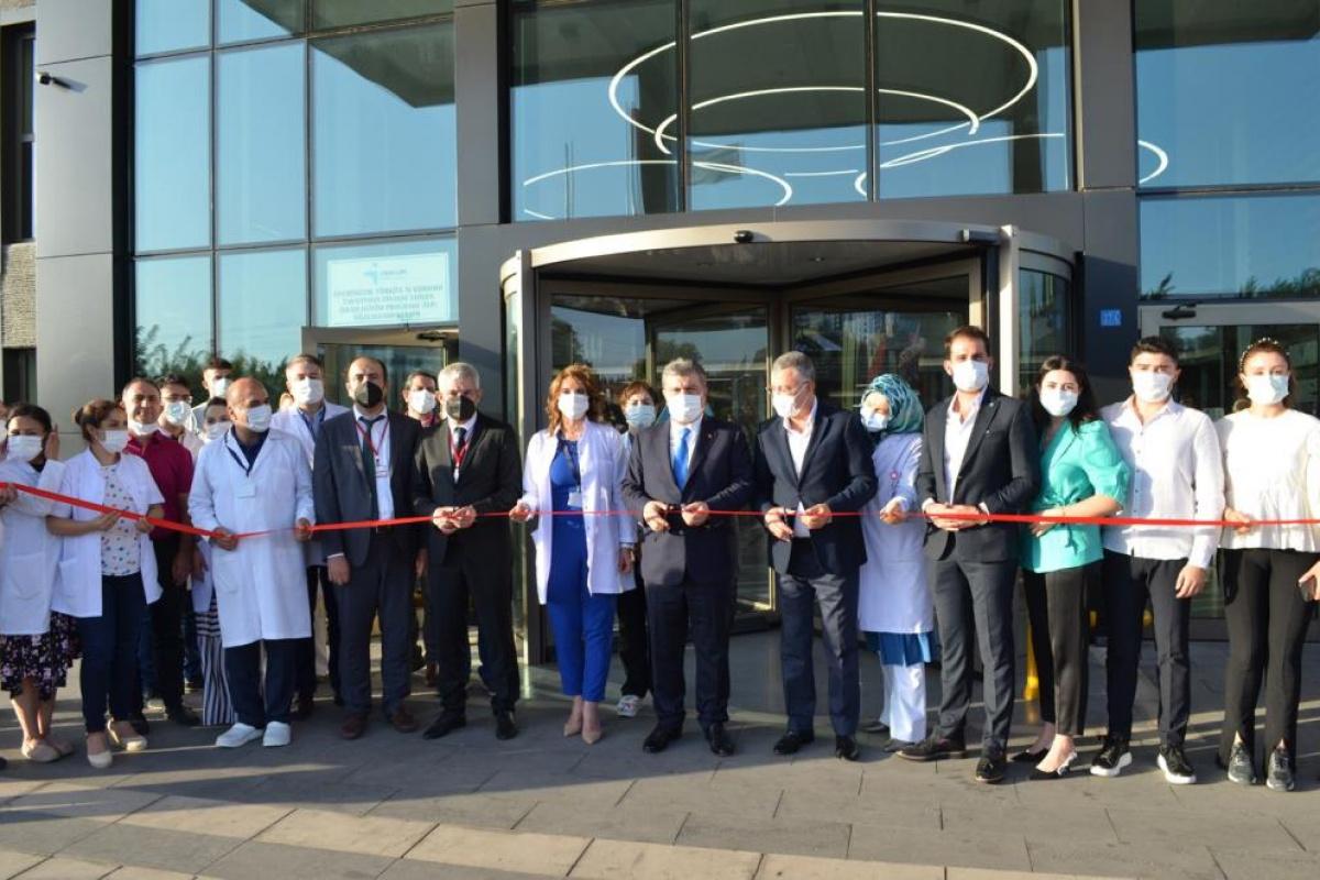 Bakan Koca, Sular Akademi Hastanesi'nin açılışına katıldı