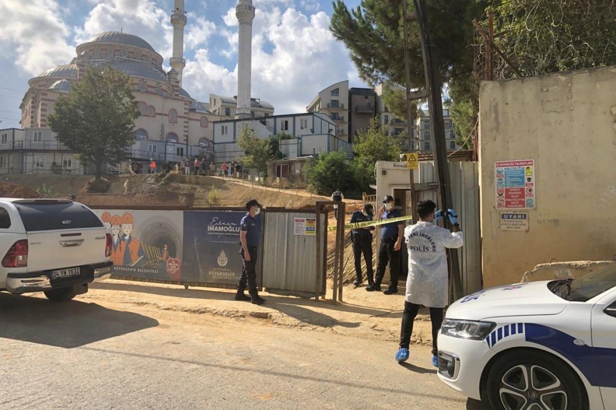Sancaktepe'de metro inşaatında göçük: 1'i ağır 2 yaralı