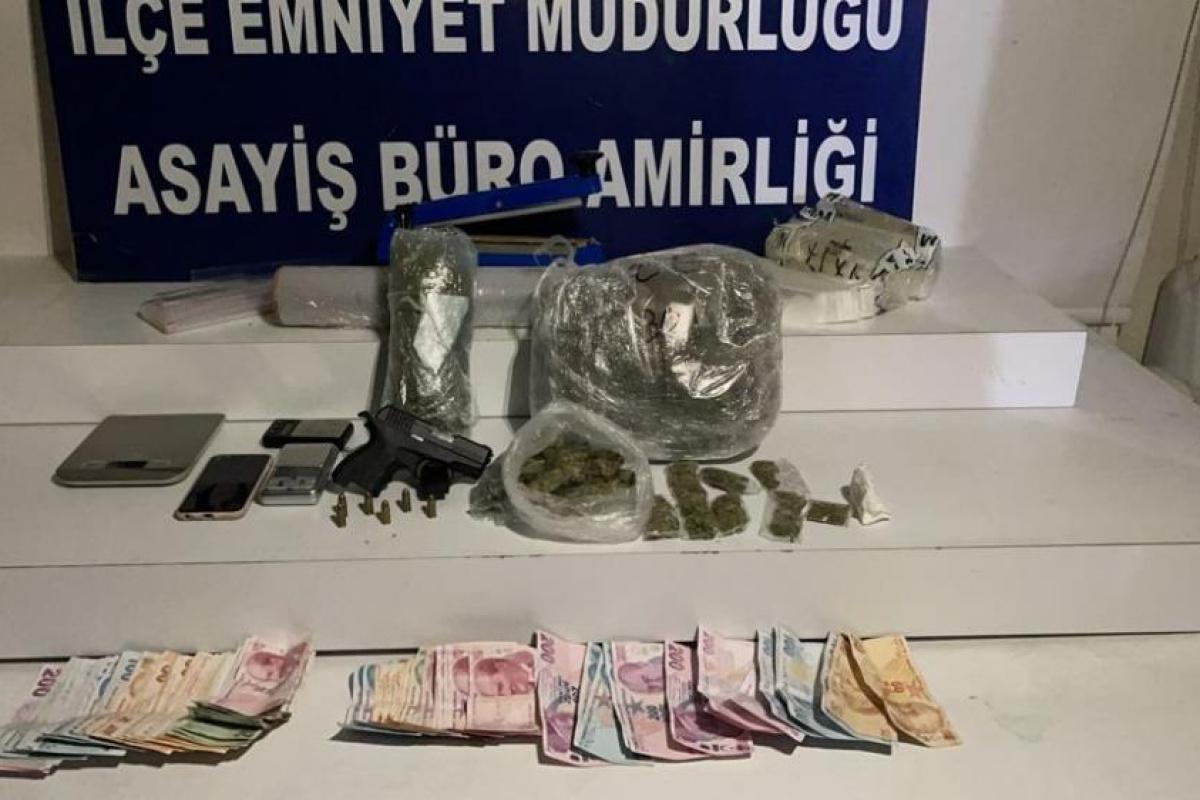 Uyuşturucu operasyonunda yakalanan kadın cezaevi firarisi çıktı