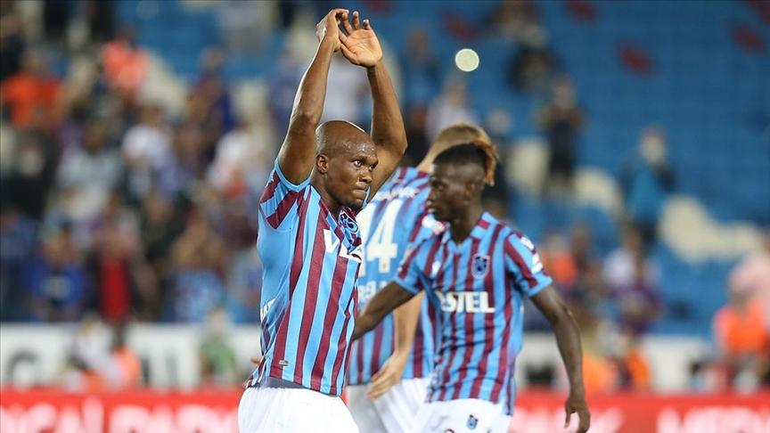 Trabzonspor'un forvetteki istikrarı Nwakaeme