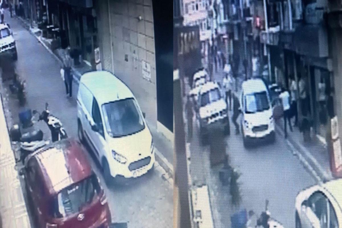 İstanbul'da dehşet anları: Aracın altında kalan kadını böyle kurtardılar