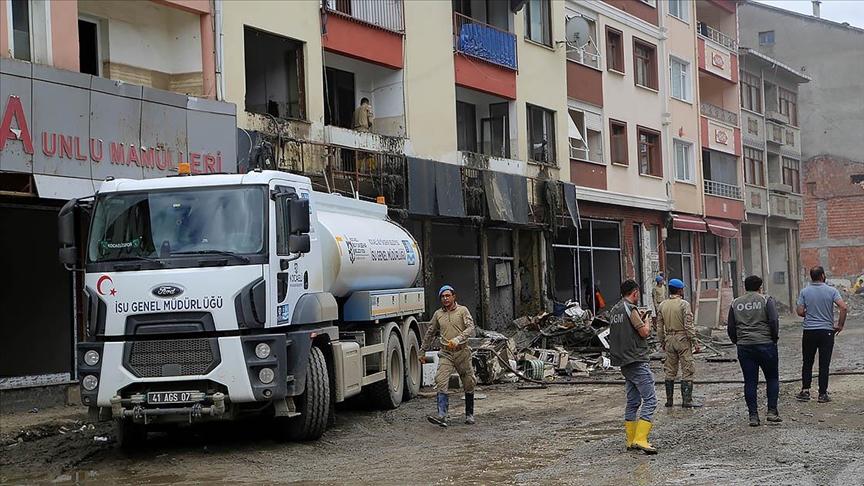 Kastamonu'daki sel mağduru vatandaşlardan iki ay su parası alınmayacak