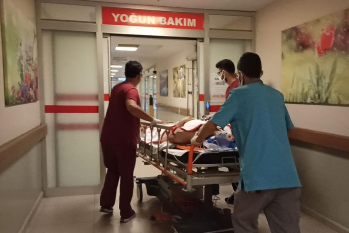 Çatıdan düşen işçi ağır yaralandı!