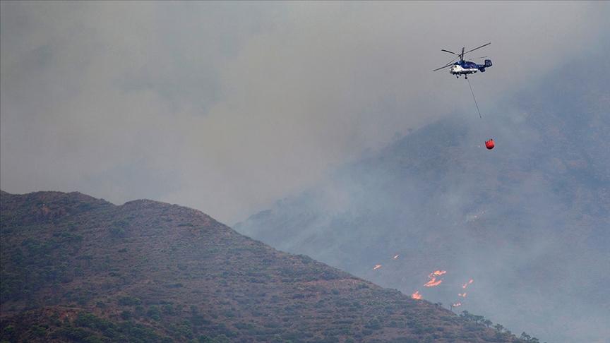 İspanya'nın güneyindeki yangınlar yedinci gününde kontrol altına alındı