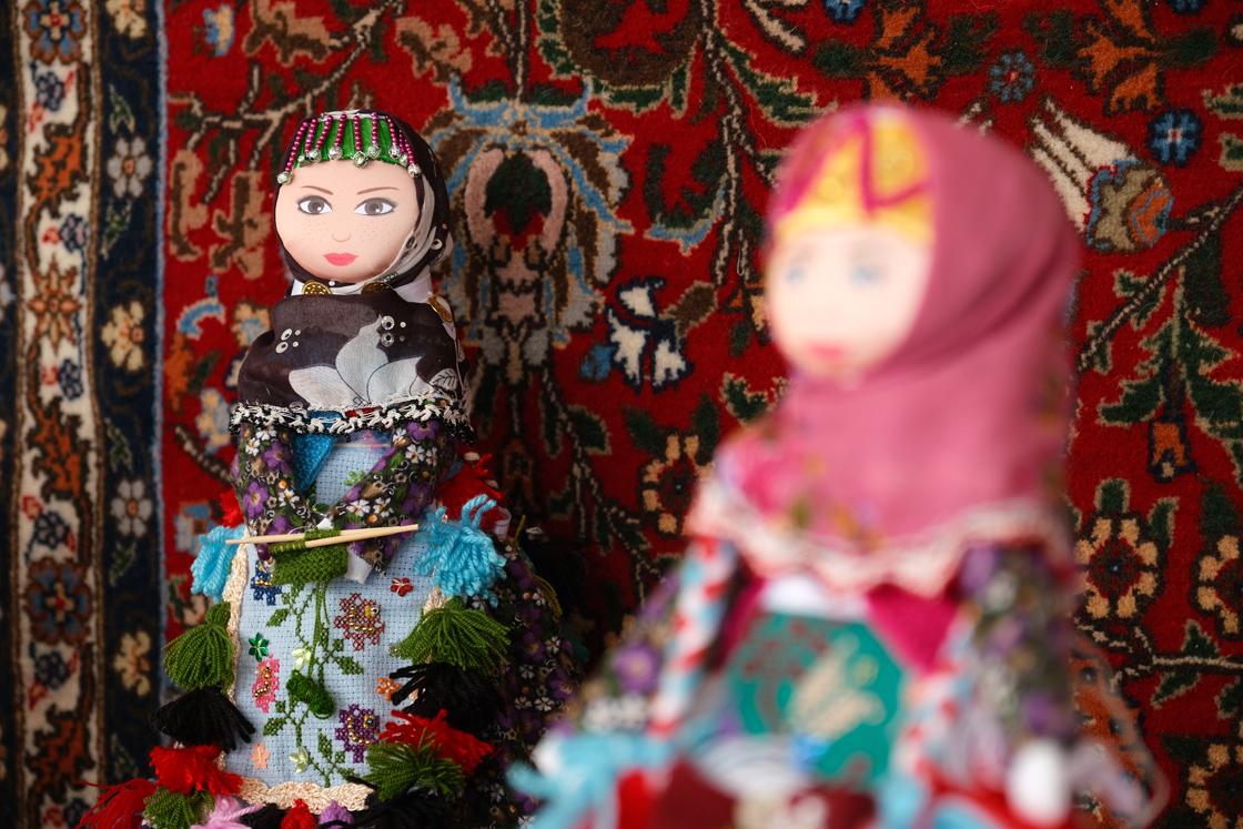 Sivas'ın tescilli 'Yenihan Bebekleri' geleneksel kültürü yaşatıyor