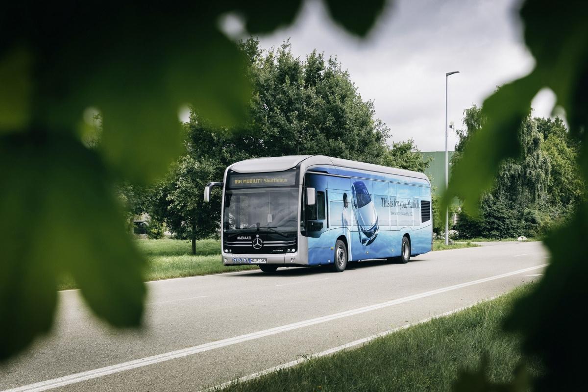 Ar-Ge'si Türkiye'de yapılan elektrikli otobüs, Almanya'da emisyonsuz ulaşım sağladı
