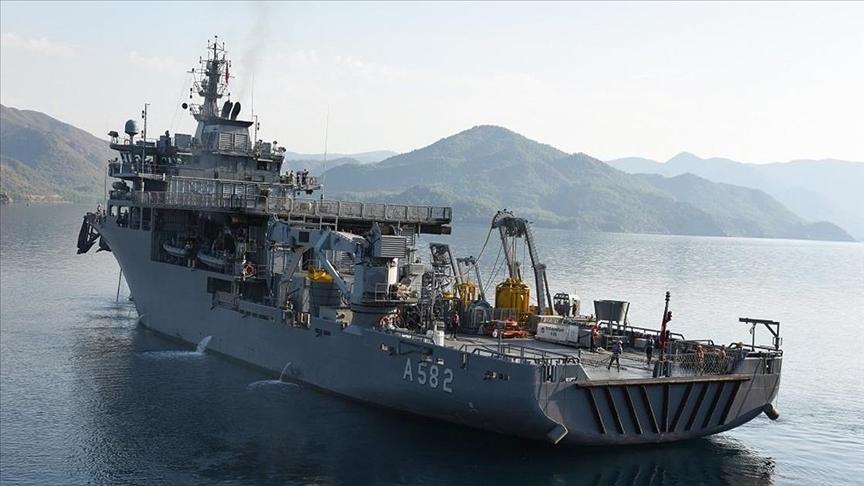 Kurtaran 2021 Denizaltı Arama Kurtarma Tatbikatı başladı