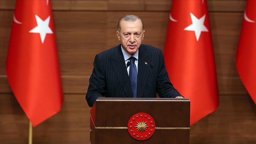 Erdoğan: 2023, Türkiye'nin ve Türk milletinin yeniden şahlanışının sembolüdür