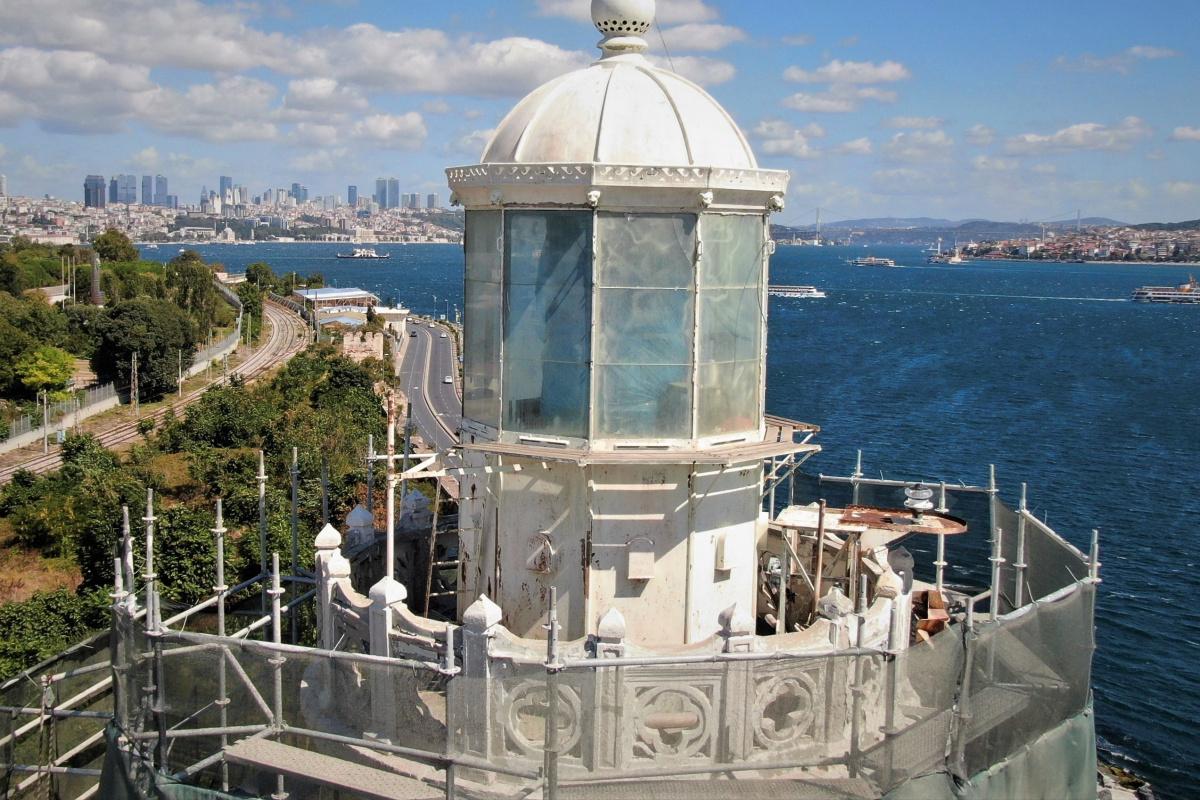 Gemilerin rehberi tarihi fener restore ediliyor
