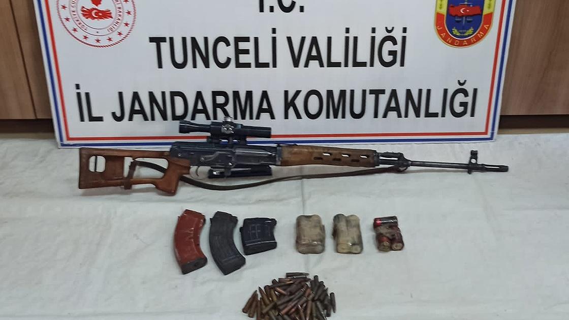 Tunceli'de teröristlerin kullandığı 10 sığınak imha edildi