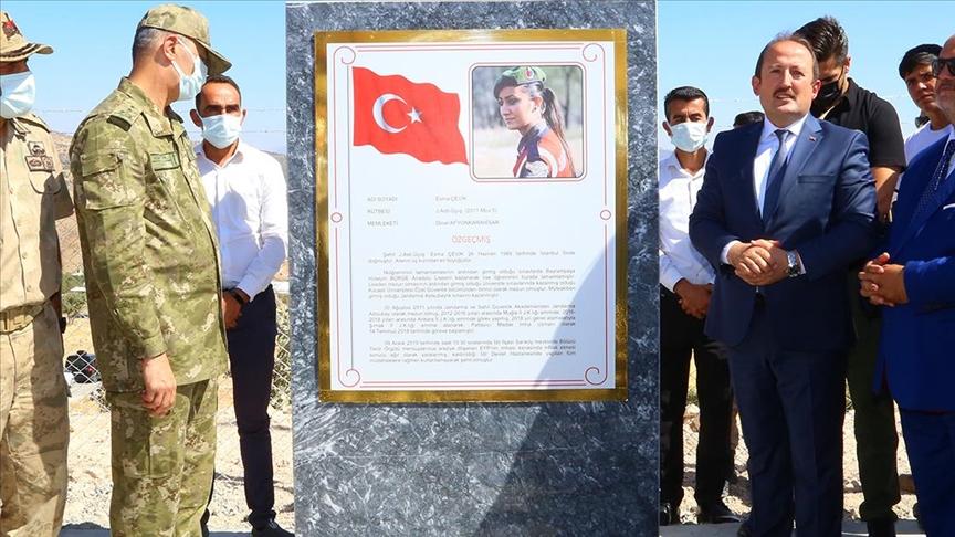 Şırnak'ta petrol keşfedilen kuyuya şehit Esma Çevik'in adı verildi