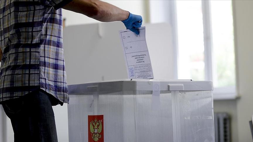 Rusya'da halk milletvekili seçimleri için sandık başında