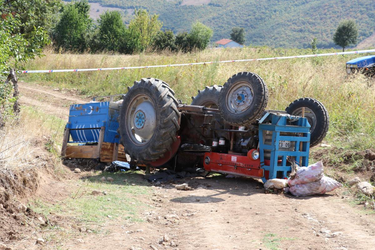 Amasya'da feci kaza: Traktörün altında can verdi