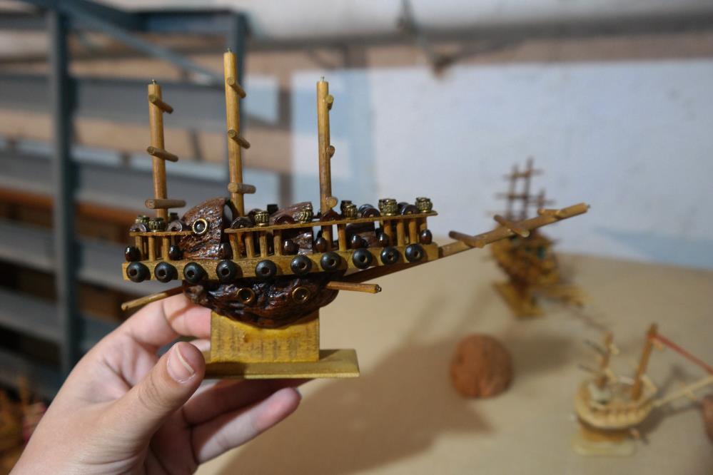 Bu gemilerin karinası ceviz kabuğundan
