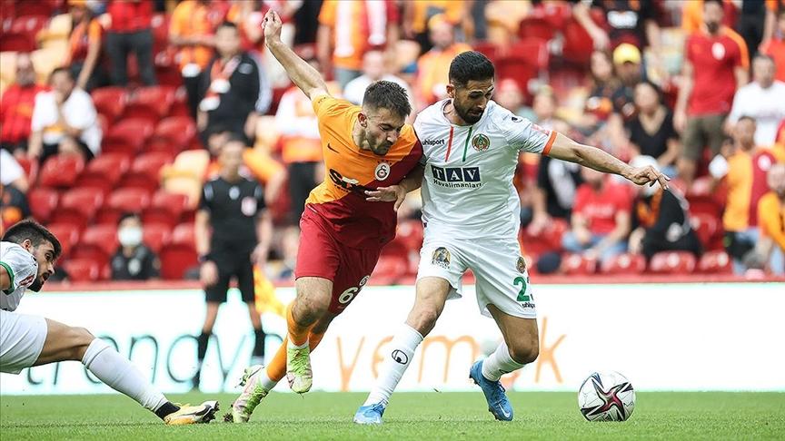 Galatasaray sahasında Alanyaspor'a yenildi