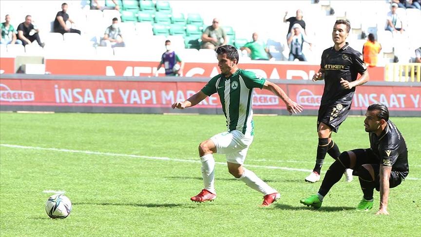 GZT Giresunspor- İttifak Holding Konyaspor maçı golsüz beraberlikle sonuçlandı