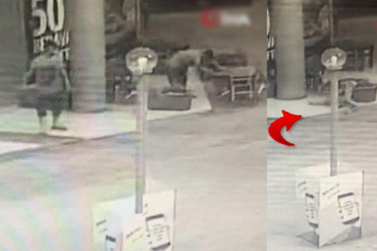 Kağıt toplayıcısı gencin ölüm anı kamerada