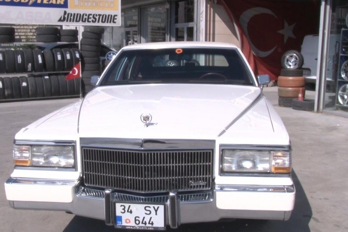 1970 model aracı için jant istedi, arabanın ilk sahibi ile karşılaştı